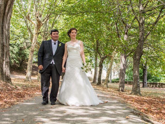 La boda de Chema y Blanca en Siones, Burgos 13