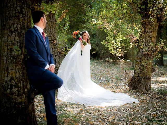 La boda de Rafael y Aurora en Torrecaballeros, Segovia 114