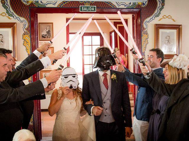 La boda de Rafael y Aurora en Torrecaballeros, Segovia 133