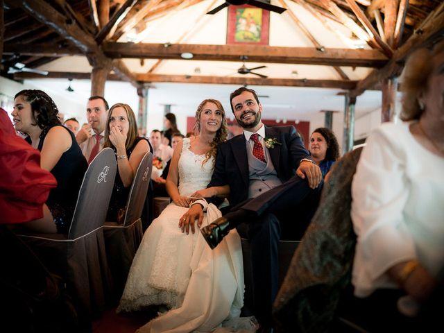 La boda de Rafael y Aurora en Torrecaballeros, Segovia 134