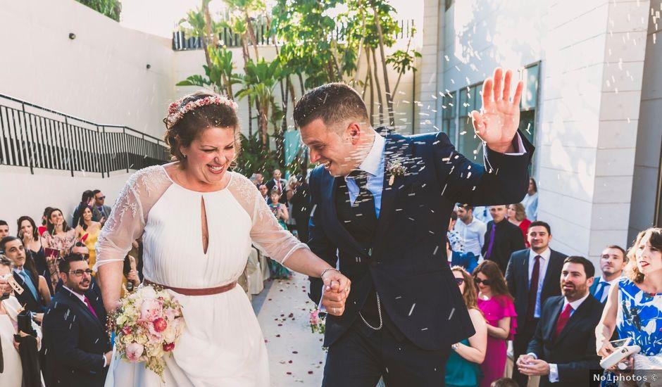 La boda de Javier y Celia en Benidorm, Alicante