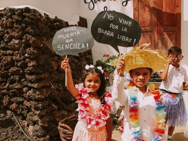 La boda de Rayco y Estibaliz en Frontera, Santa Cruz de Tenerife 35