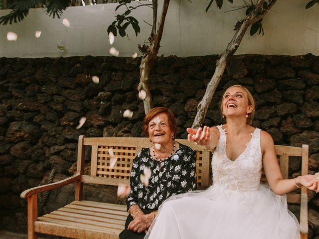 La boda de Rayco y Estibaliz en Frontera, Santa Cruz de Tenerife 45