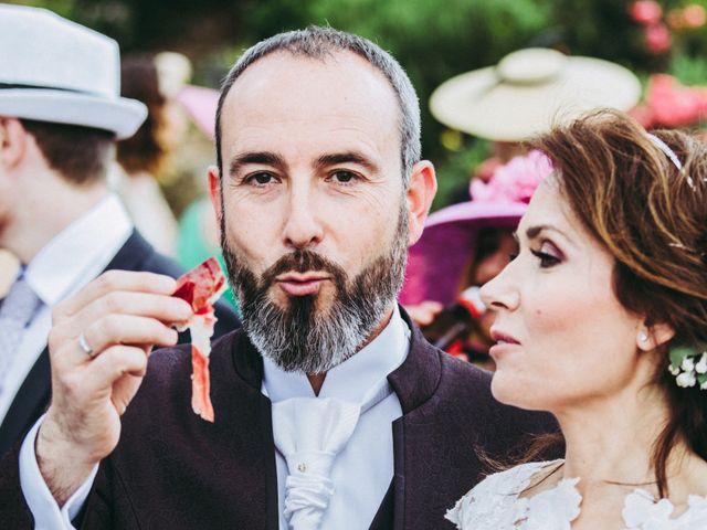 La boda de Raúl y Mabel en Almonaster La Real, Huelva 1