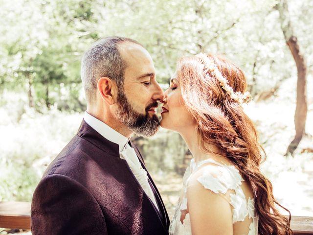 La boda de Raúl y Mabel en Almonaster La Real, Huelva 11