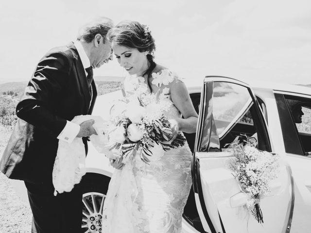 La boda de Raúl y Mabel en Almonaster La Real, Huelva 16