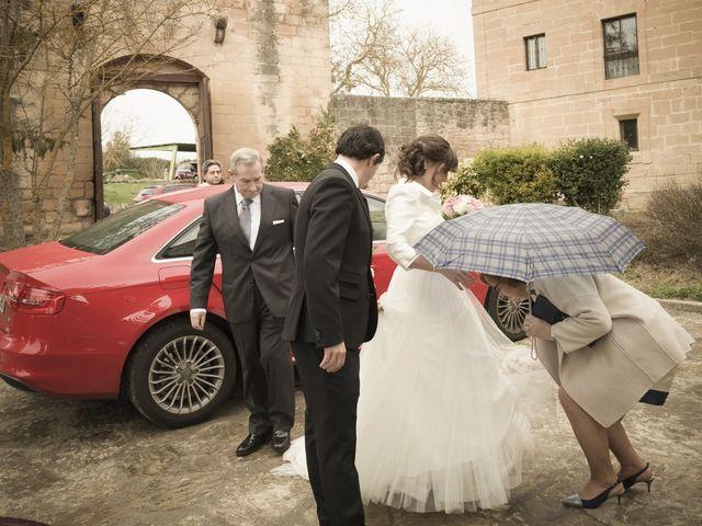 La boda de Oscar y Cristina en Santa Gadea Del Cid, Burgos 45