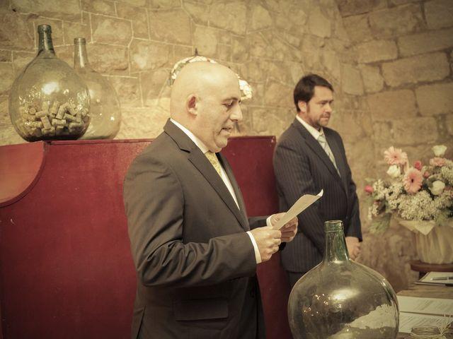 La boda de Oscar y Cristina en Santa Gadea Del Cid, Burgos 61