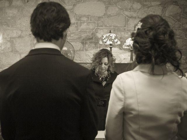 La boda de Oscar y Cristina en Santa Gadea Del Cid, Burgos 64
