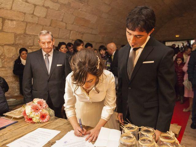 La boda de Oscar y Cristina en Santa Gadea Del Cid, Burgos 75
