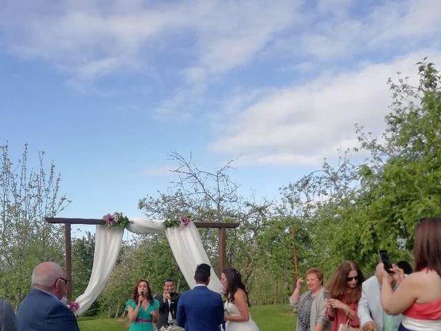 La boda de Jesús y Jessica en Tiñana, Asturias 1