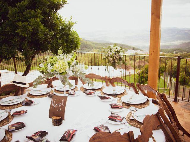 La boda de Raúl y Mabel en Almonaster La Real, Huelva 20