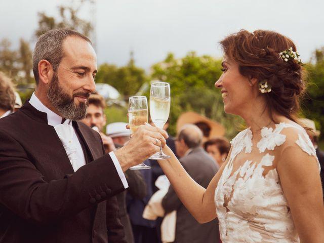 La boda de Raúl y Mabel en Almonaster La Real, Huelva 28