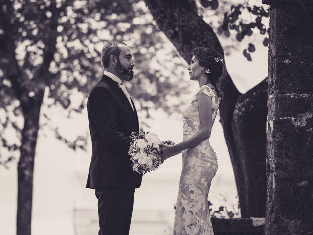 La boda de Raúl y Mabel en Almonaster La Real, Huelva 30