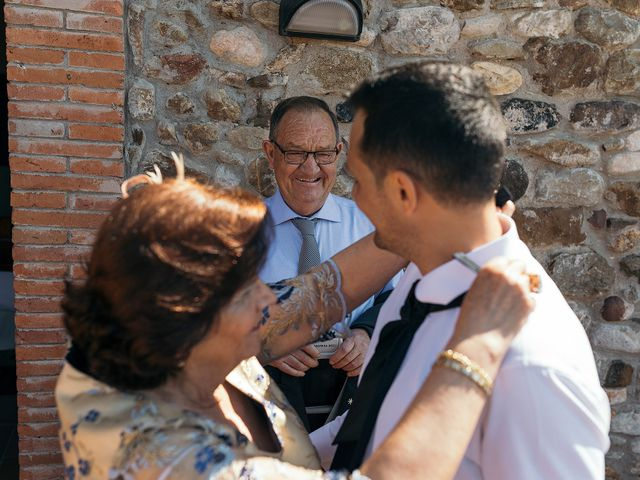 La boda de Albert y Olga en Sant Gregori (Municipio), Girona 8