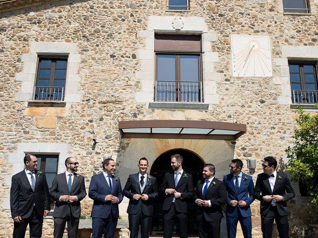 La boda de Albert y Olga en Sant Gregori (Municipio), Girona 13