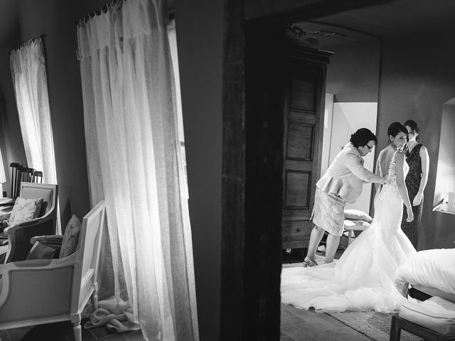 La boda de Albert y Olga en Sant Gregori (Municipio), Girona 19