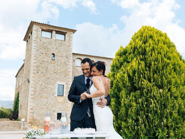 La boda de Albert y Olga en Sant Gregori (Municipio), Girona 34