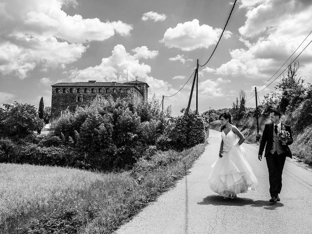 La boda de Albert y Olga en Sant Gregori (Municipio), Girona 36