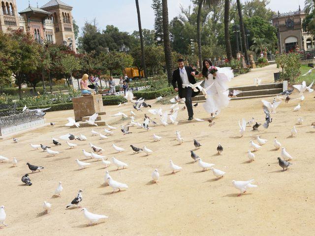 La boda de David y Mirian en Utrera, Sevilla 19