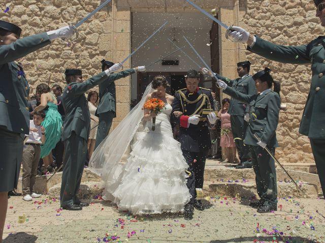 La boda de Ismael y Rocío en Casas De Los Pinos, Cuenca 1