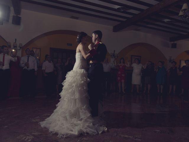 La boda de Ismael y Rocío en Casas De Los Pinos, Cuenca 43