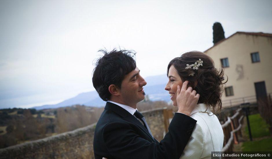 La boda de Oscar y Cristina en Santa Gadea Del Cid, Burgos