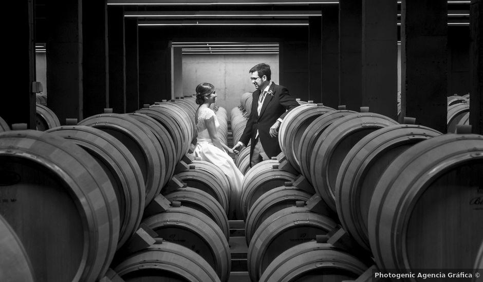 La boda de Diego y Eva en Peñafiel, Valladolid