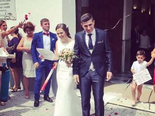 La boda de Virginia y Jose Mari