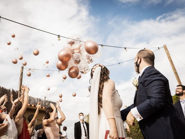 La boda de Samuel y Míriam en Subirats, Barcelona 1