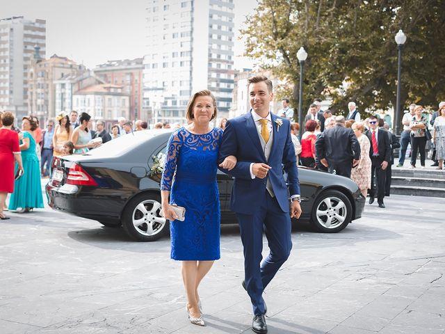 La boda de Adrián y Caty en Gijón, Asturias 5