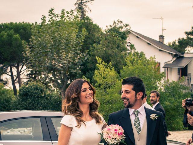 La boda de Ruben y Marina en Torrelodones, Madrid 21