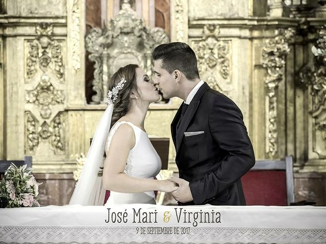 La boda de Virginia y Jose Mari