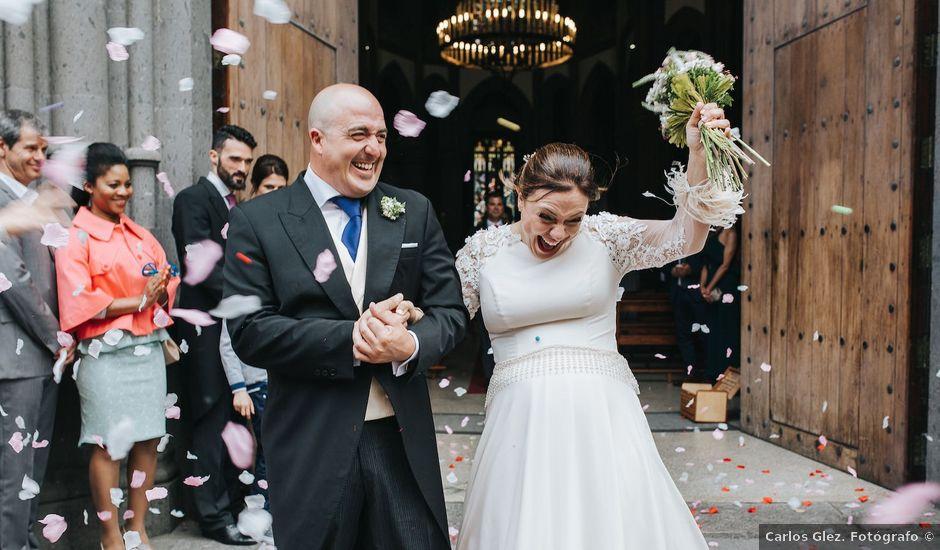 La boda de Pablo y Nuria en Arucas, Las Palmas