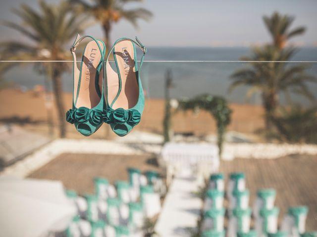 La boda de Jose y Esmeralda en Mar De Cristal, Murcia 7