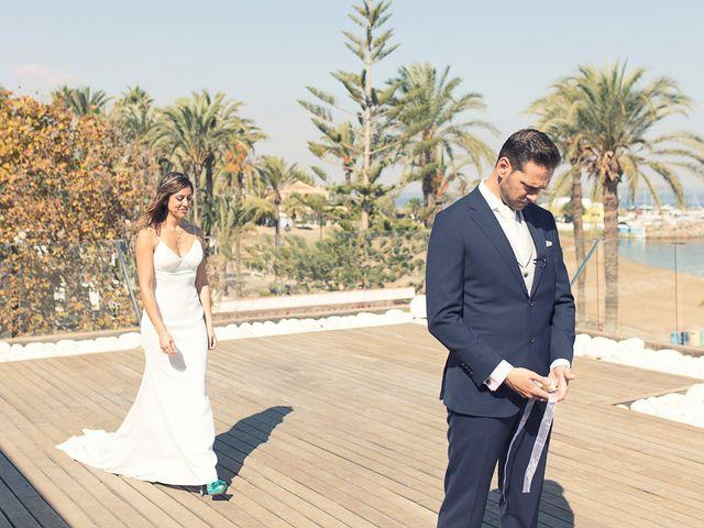 La boda de Jose y Esmeralda en Mar De Cristal, Murcia 13
