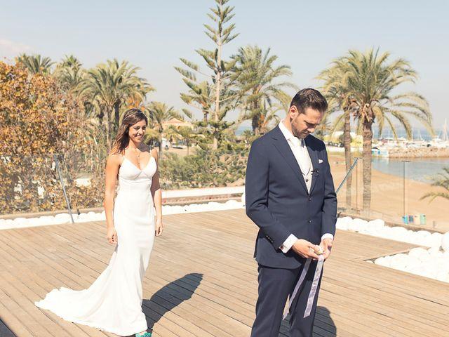La boda de Jose y Esmeralda en Mar De Cristal, Murcia 14