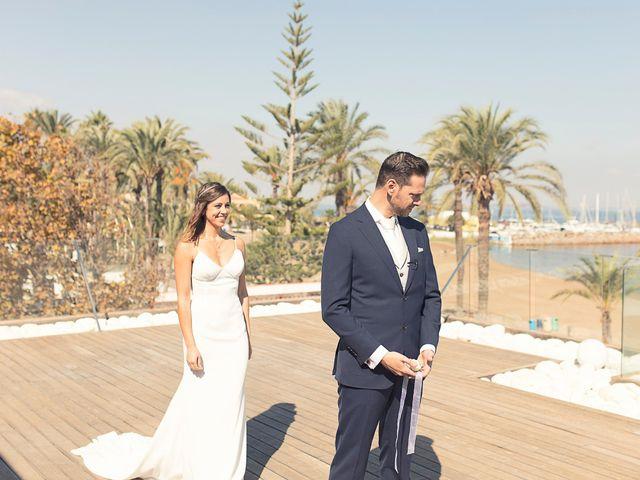 La boda de Jose y Esmeralda en Mar De Cristal, Murcia 15