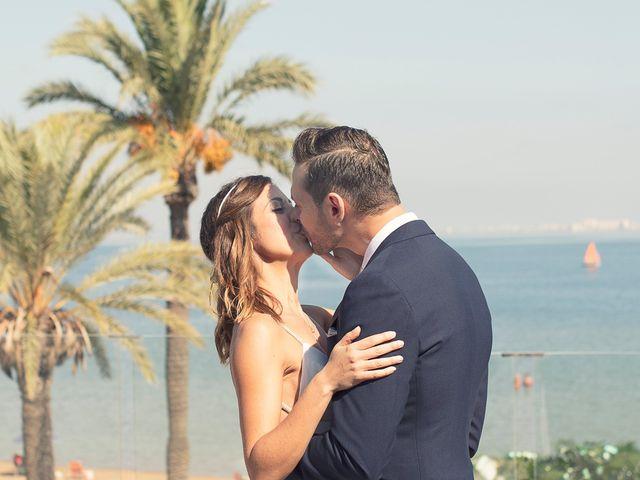 La boda de Jose y Esmeralda en Mar De Cristal, Murcia 18