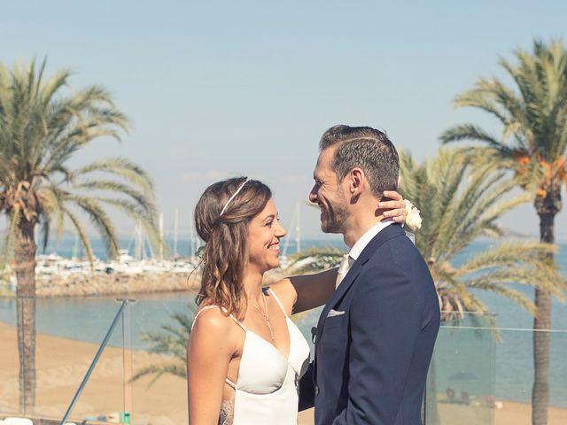 La boda de Jose y Esmeralda en Mar De Cristal, Murcia 19