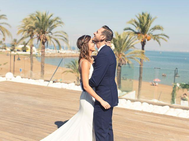 La boda de Jose y Esmeralda en Mar De Cristal, Murcia 2