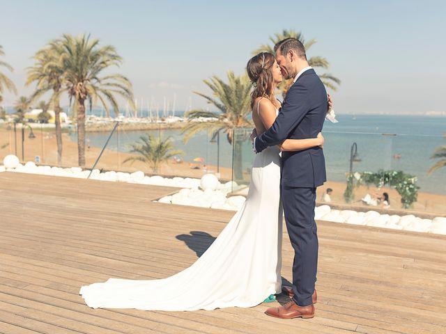 La boda de Jose y Esmeralda en Mar De Cristal, Murcia 21