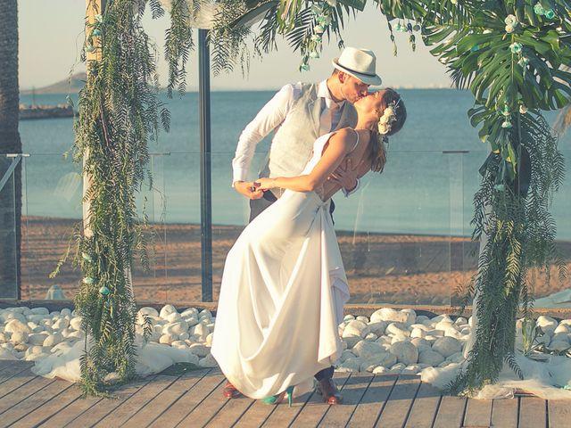 La boda de Jose y Esmeralda en Mar De Cristal, Murcia 28