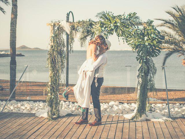 La boda de Jose y Esmeralda en Mar De Cristal, Murcia 29