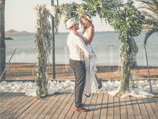 La boda de Jose y Esmeralda en Mar De Cristal, Murcia 30