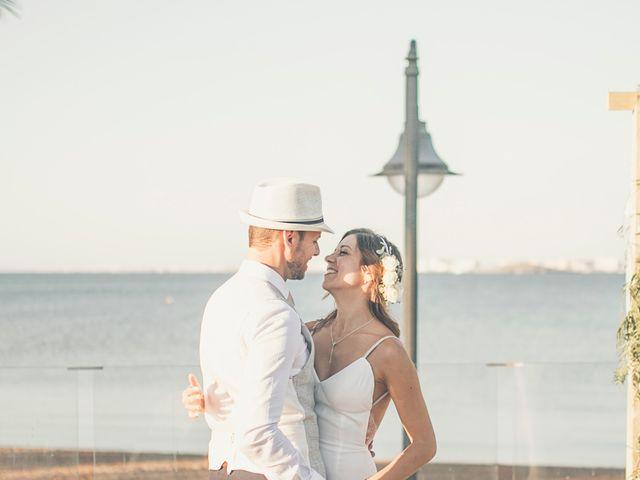 La boda de Jose y Esmeralda en Mar De Cristal, Murcia 31