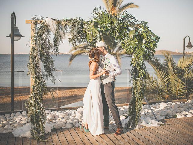 La boda de Jose y Esmeralda en Mar De Cristal, Murcia 32