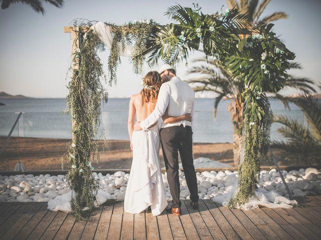 La boda de Jose y Esmeralda en Mar De Cristal, Murcia 34