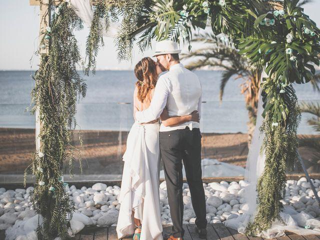 La boda de Jose y Esmeralda en Mar De Cristal, Murcia 35