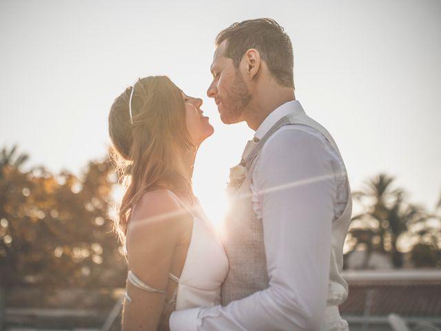 La boda de Jose y Esmeralda en Mar De Cristal, Murcia 40